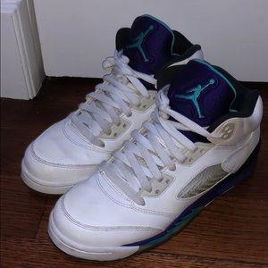 Jordan 5 grapes, 2013 pair